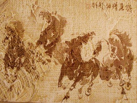 Венецианская штукатурка роспись