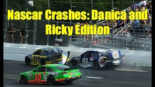 Nascar Crashes: Danica and Ricky Edition