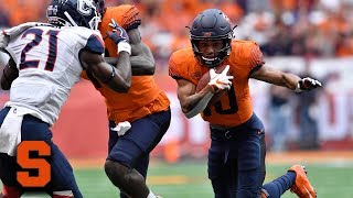 Syracuse's Sean Riley Returns Punt 69 Yards for TD vs. UConn