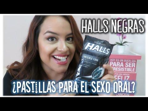 Las famosas HALLS NEGRAS | Pastillas de Menta para el Sexo Oral | Silviad8a