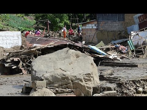 Colombia landslide: Heavy loss of life