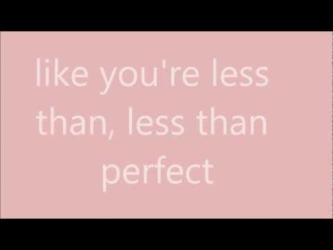 Perfect - Pink (clean Version) Lyrics video