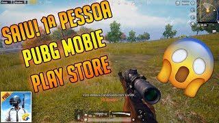 SAIU! PRIMEIRA PESSOA PUBG MOBILE PLAY STORE + DOWNLOAD