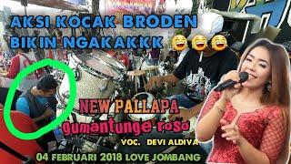 GUMANTUNG ROSO DEVI ALDIVA NEW PALLAPA FULL KENDANG LIVE MOJOKRAPAK JOMBANG 04 FEBRUARI 2018