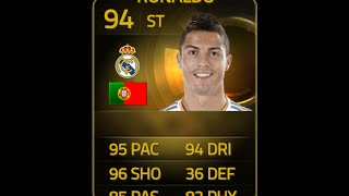 FIFA 15 SIF STRIKER RONALDO 94 Player Review & In Game Stats Ultimate Team