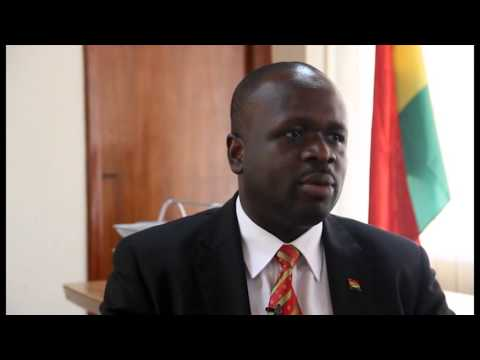 Minister Omane Boamah | ICT and Telecommunications in Ghana