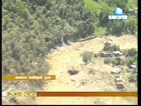 Sindhupalchok Landslide Nepal- sun koshi