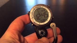Digital Mini Clip by Dakota Watch Company