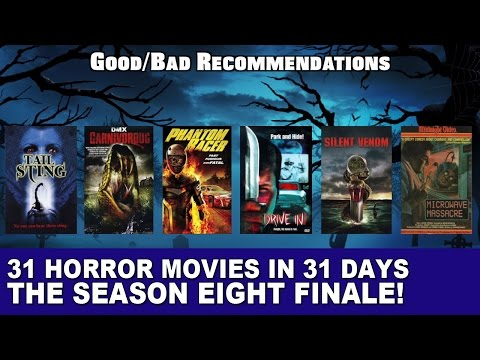 The Season 8 Finale - 31 Horror Movies in 31 Days