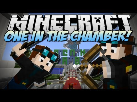 Minecraft   ONE IN THE CHAMBER! w/FaceCam   Minigame