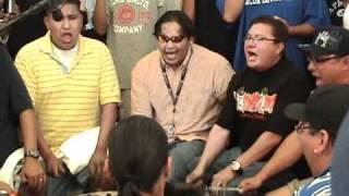 Northern Cree Pow wow music Inter Tribal Native American Post Falls Julymush