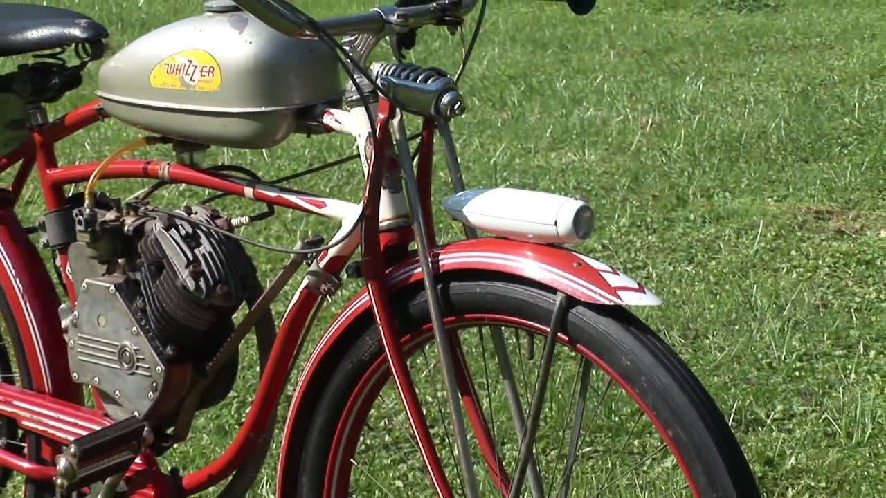 Whizzer Moped 1948 Vintage