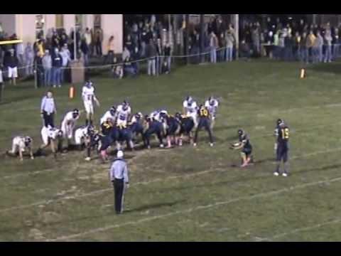 DaShawn Brown Football Highlights - Moorefield High School - Moorefield, WV