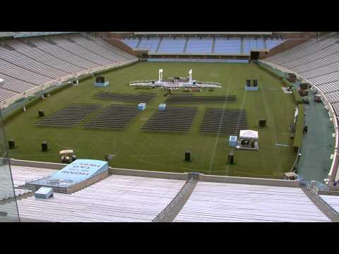 UNC-Chapel Hill Graduation 2013 | A Time-Lapse