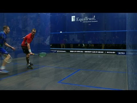 Squash: Windy City Open 2015 Round Up : Men's Semi-finals video