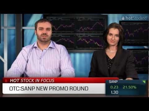 Santo Mining Corp. (OTC:SANP) On The Tip of a Pump