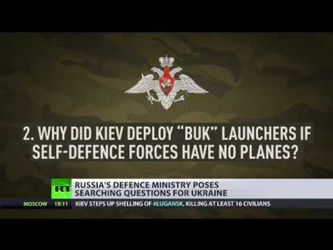 Moscow raises 10 questions surrounding MH17 crash