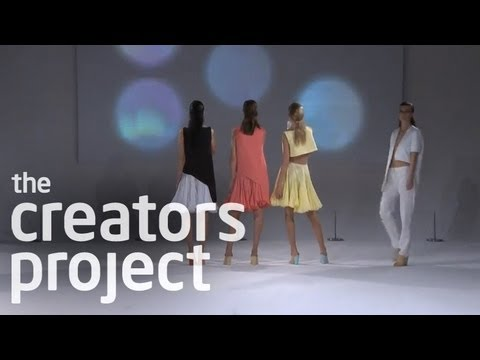 Hussein Chalayan S/S 2012: Fashion Behind The Scenes