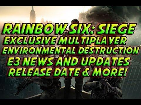 e3 2014 rainbow six siege exclusive multiplayer. Black Bedroom Furniture Sets. Home Design Ideas