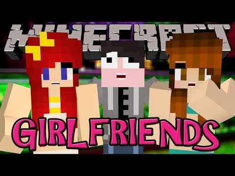 Minecraft Mod Review: GIRLFRIENDS! - Fight. Dance. Love! (Orespawn Mod)