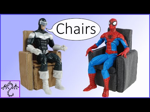 How to Make an Arm Chair for Action Figures or Dolls