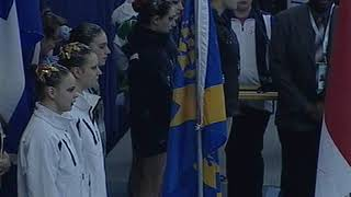 2011 Canada Winter Games - Synchronized Swimming - Team Medals