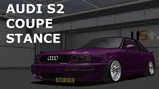 AUDI 90 COUPE STANCE BUILD - Street Legal Racing REDLINE Builds