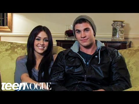 Miley and Liam – Teen Vogue Cover Shoot