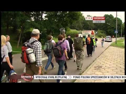 27. Szczecińska Piesza Pielgrzymka Na Jasna Górę - Kronika TVP Szczecin