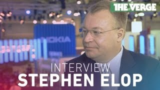 Stephen Elop interview at MWC 2013