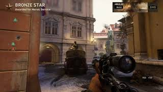 """NEW WW2 MAP """"ANTHROPOID"""" 40 KILL SNIPING GAMEPLAY"""