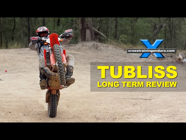 TUbliss tubeless tire system for dirt bikes: a long-term ...