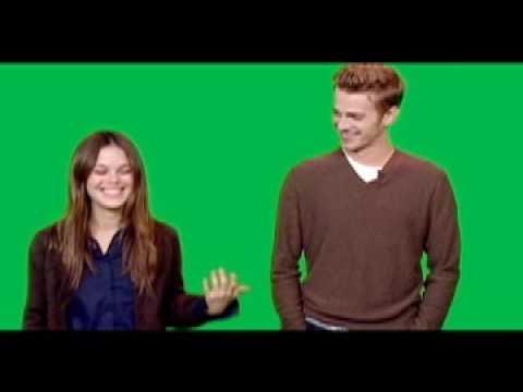 Rachel Bilson & Hayden Christensen behind the scenes