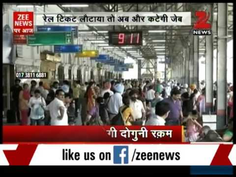 Indian Railway increases train ticket cancellation charges from today