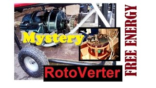 FREE ENERGY. Secret - RotoVerter? Collector Motor. Сonversion options.