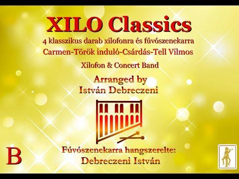 Csorvás Város Fúvószenekara és Majorette csoportja -  Xilo Classics