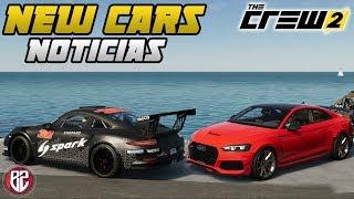 New Cars, Ruta y Noticias - The Crew 2
