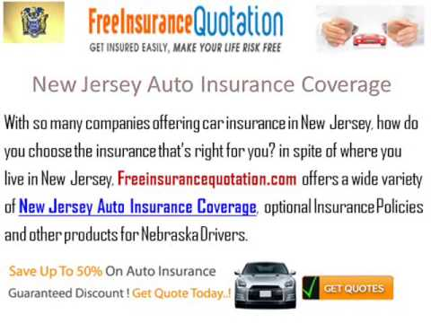 New Jersey Auto Insurance Company - New Jersey Auto Insurance Quote