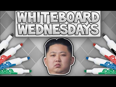 Whiteboard Wednesdays - Kim Jong Un