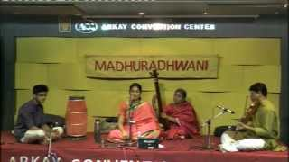 Madhuradhwani-Music Concert by Samuktha Ranganathan