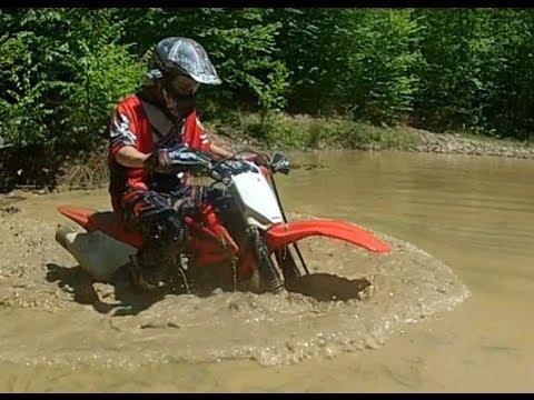 Dirtbikes + Mud = Bad Idea! - GoPro Hero 2