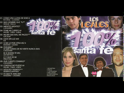 URIEL LOZANO LEO MATTIOLI DALILA LOS PALMERAS - CUMBIA SANTAFESINA [ENGANCHADOS CD COMPLETO]