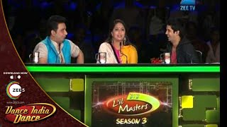 DID L'il Masters Season 3 - Mumbai Auditions - Devashish Motwani's amazing performance
