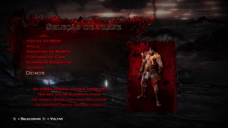 GOD 0F WAR 3 VERY HARD FEAR KRATOS (sem m0rrer*) PlayStation 4