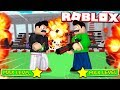 ROBLOX 1v1 CHALLENGE with MY LITTLE BROTHER in DESTRUCTION SIMULATOR!