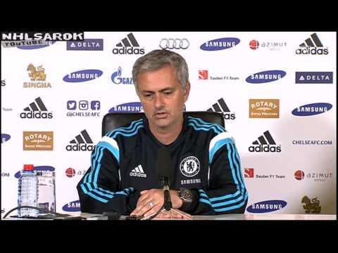 Jose Mourinho pre-match press conference Manchester City vs Chelsea