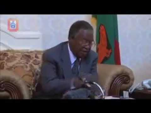 Michael Sata said there was no need for a new State House