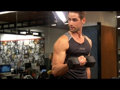 Fitness Tips From Male Models - YouTube