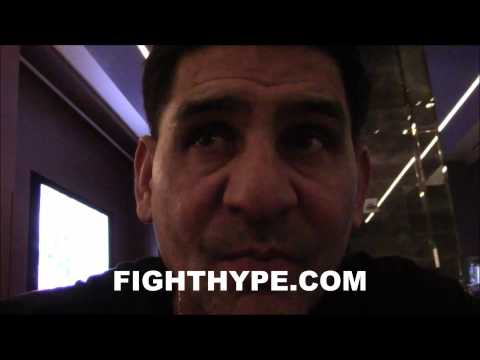 ANGEL GARCIA DISCUSSES DANNY GARCIA'S CLASH WITH LAMONT PETERSON AND FUTURE MOVE UP TO 147