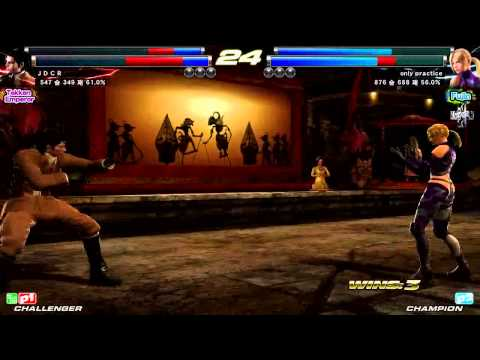 TEKKEN TAG2 UL 6/5 JDCR VS ONLY PRACTICE